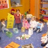 MŠ Havlíčkova - nádoby na tříděný odpad