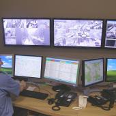 Operační středisko městské policie, foto: MP