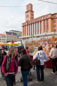 Velikonoční trhy na Mírovém náměstí, foto: J. Jiroutek