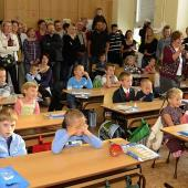 První školní den v ZŠ Pivovarská, foto: M. Vele