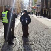 Městská policie v ulicích, foto: MP