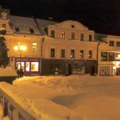 Mírové Square in Winter