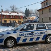 Auto městské policie, foto: M. Hozová