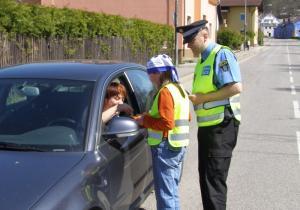 Akce Řidiči, jezdi bezpečně, autor: archiv MP