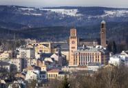 Zimní pohled na město, autor: Jiří Jiroutek
