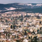 Zimní město, autor: Jiří Jiroutek