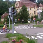 Křižovatka se semafory, autor: archiv MP