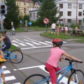 Děti mají k dispozici kola i koloběžky, autor: archiv MP
