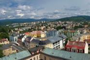 Pohled na město z věže radnice, autor: Milan Bajer