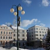 Mírové náměstí, autor: Helena Rudolfová
