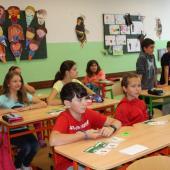Žáci ve škole, autor: Markéta Hozová