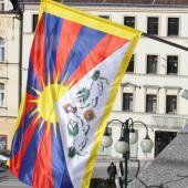 Vlajka pro Tibet, autor: Petr Vitvar
