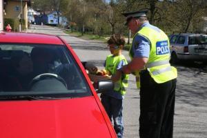 """Preventivní akce """"Řidiči jezdi bezpečně"""", autor: archiv MP"""