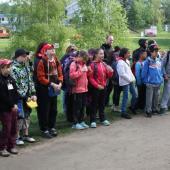 Nástup dětí před startem, autor: Helena Rudolfová