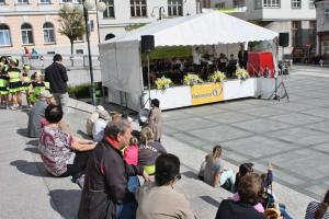 Festival Město plné tónů na Mírovém náměstí, autor: Jana Fričová