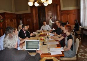 Zasedání řídící skupiny IPRÚ, autor: Jana Fričová