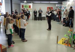 Zahájení Výstavy výtvarných prací žáků a studentů, autor: Radka Baloghová