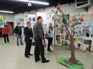 Výstava výtvarných prací, autor: Markéta Hozová