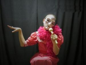 Plešatá zpěvačka, autor: Sundisk