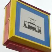 Tramvajová zastávka, autor: Petr Vitvar