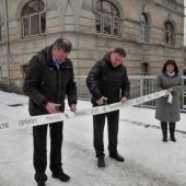 Otevření opraveného mostu v Jánské ulici, autor: Jana Matěchová