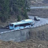 Autobus na silnici Jablonec - Kunratice, autor: Petr Vitvar