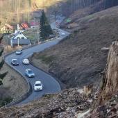 Silnice Jablonec - Liberec-Kunratice, autor: Petr Vitvar