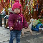 Dítě s pomlázkou, autor: Radka Baloghová