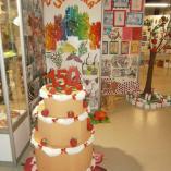 Papírový dort, autor: Jitka Krausová