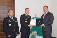 Ředitel Vězeňské služby ČR Petr Dohnal (uprostřed) s primátorem Petrem Beitlem, autor: Markéta Hozová