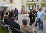 Historicky první zahradní slavnost v Domově důchodců v Pasekách, autor: Radka Baloghová