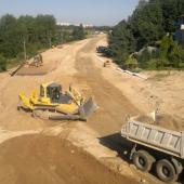 Stavba silnice Jablonec - Liberec (Kunratice) I/14, autor: archiv ŘSD