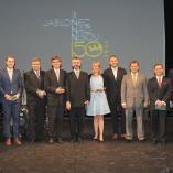 Ocenění cenou Gatias tibi ago - zástupci firem, autor: Ota Mrákota