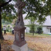 Zrestaurovaný kříž na křižovatce Prosečské a Horní ulice, autor: Jana Horčičková