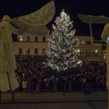 Vánoční strom s anděly, autor: Petr Zbranek