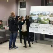 Představení ideových návrhů pěší lávky z železniční stanice do centra, autor: Jana Fričová