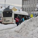 Na autobusové zastávce, autor: Petr Vitvar