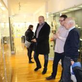 Ulrich Schwehn v Muzeu skla a bižuterie, autor: Kateřina Hujerová
