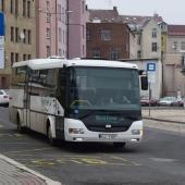 Autobus na autobusovém nádraží, autor: Radka Baloghová