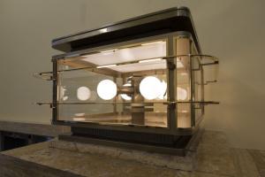 Rozsvícená lucerna ve vestibulu radnice, autor: Michal Vele