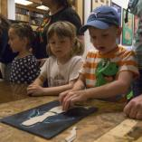 Děti si mohly vytvořit vlastní mořskou pannu, autor: Denisa Albaniová