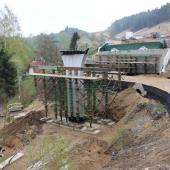 Stavba mostu na přeložce silnice I/14, autor: Markéta Hozová