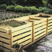 Příklad domácího kompostéru - ilustrační obrázek, autor: Wikimedia (Antonín Slejška)