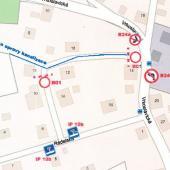 Mapa - uzavírka Rádelská ul., autor: archiv MMJN