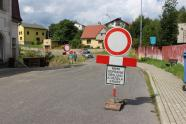Uzavřená Vrkoslavická ulice, autor: Petr Vitvar