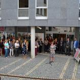 Slavnostní zahájení výstavy, autor: Václav Novotný
