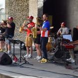 Kapela na letní scéně, autor: Radka Baloghová