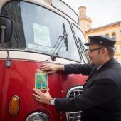 Historický autobus, autor: Miloš Lubas