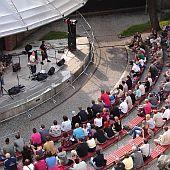 Koncert na letní scéně Eurocentra, foto: I. Mošnová