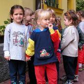 Děti v mateřské škole, obrázek se otevře v novém okně